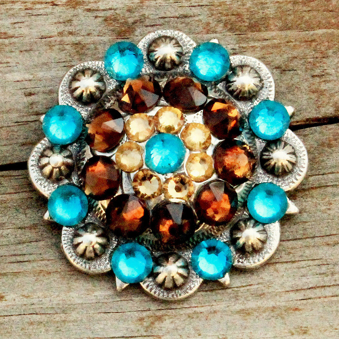 "Antique Silver-Large (1.75"") Conchos"