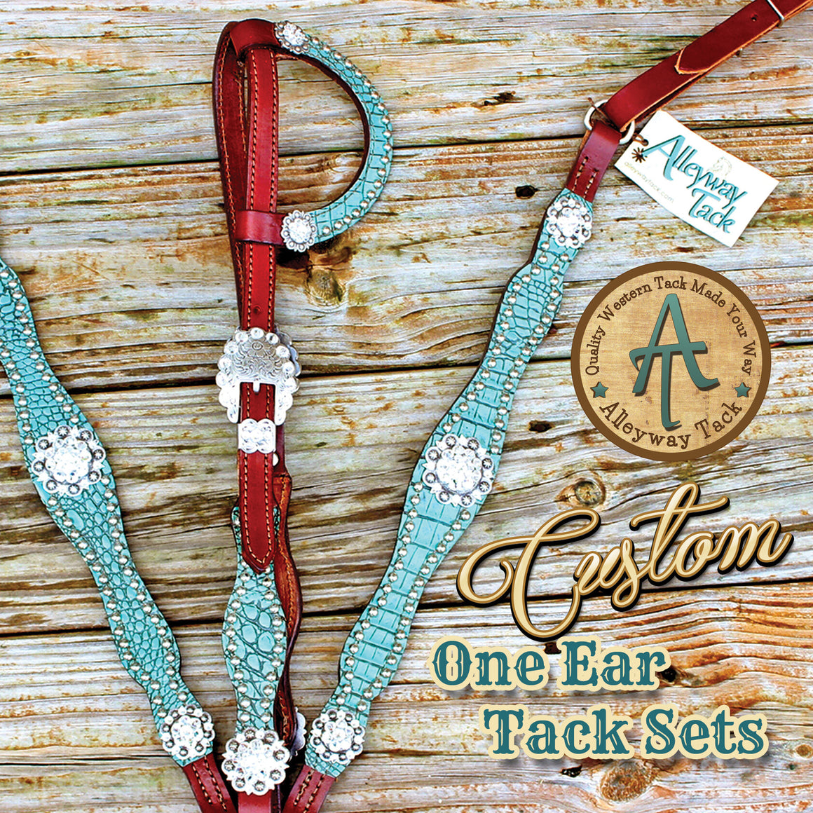 Custom One Ear Tack Set