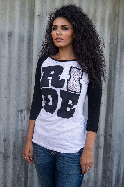 RIDE Baseball Burnout Tee