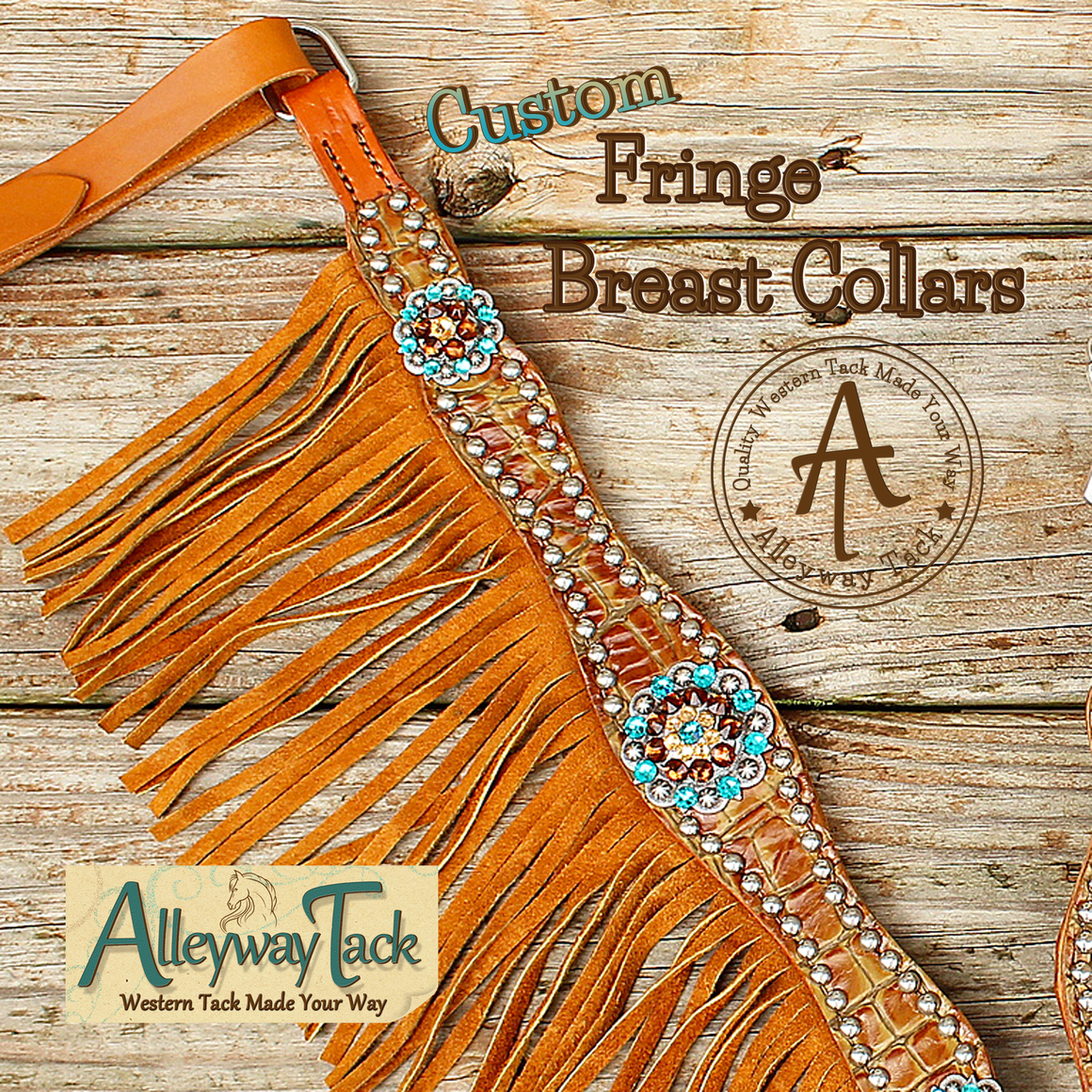 Custom Fringe Breast Collar