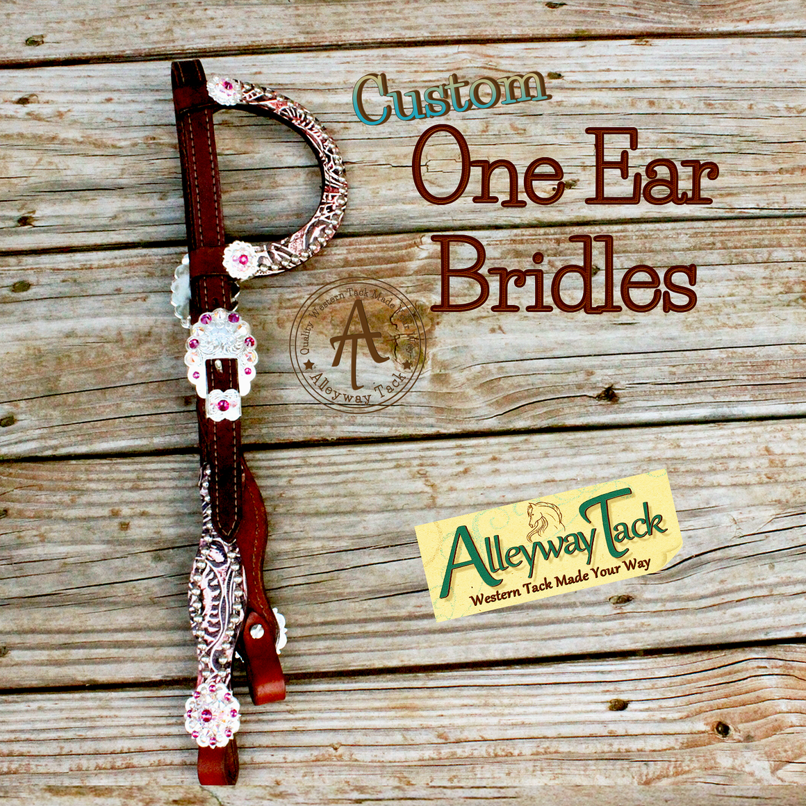 Custom One Ear Bridle