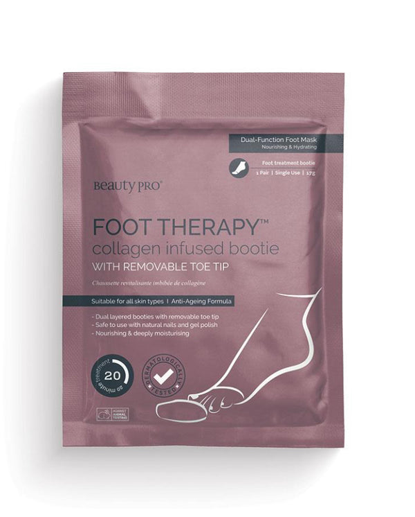 Beauty Pro foot Therapy collagen infused bootie