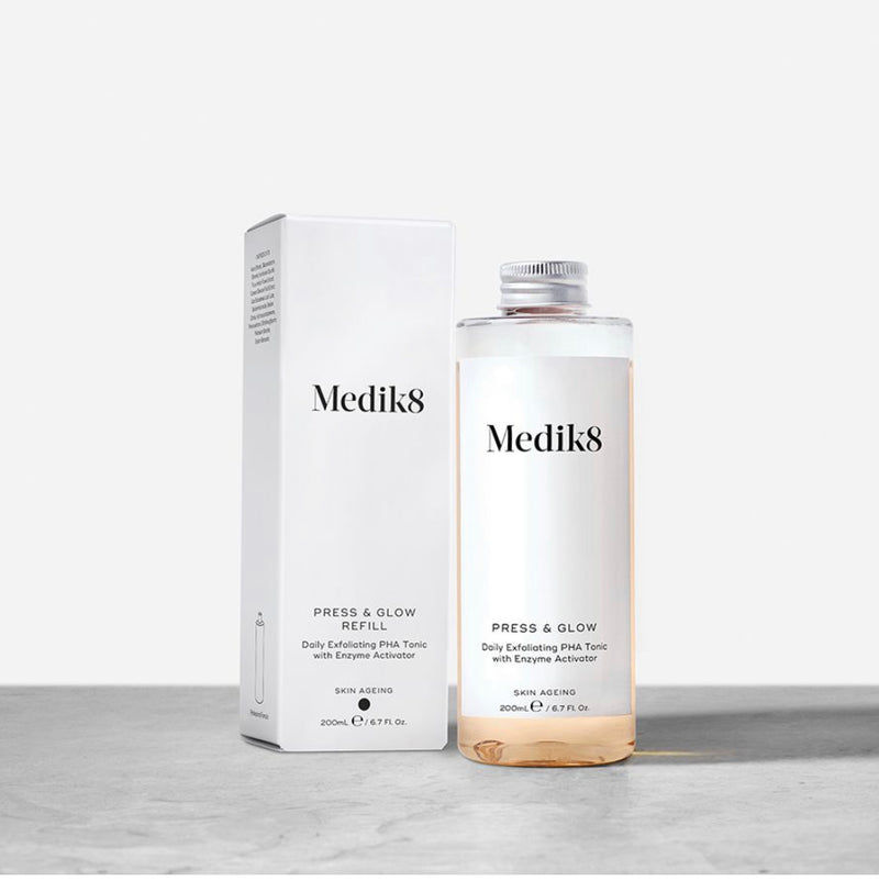 Medik8 Press & Glow - Daily Exfoliating PHA Tonic with Enzyme Activator