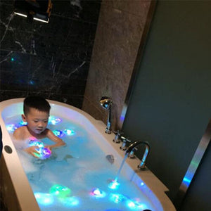 Color Changing Kids Bath Funny LED Light Toy Party In The Tub