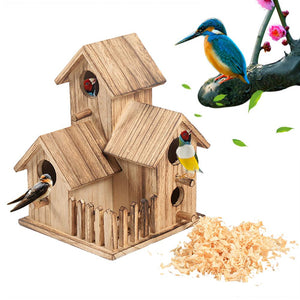 Bird House Breeding Nest Feeder