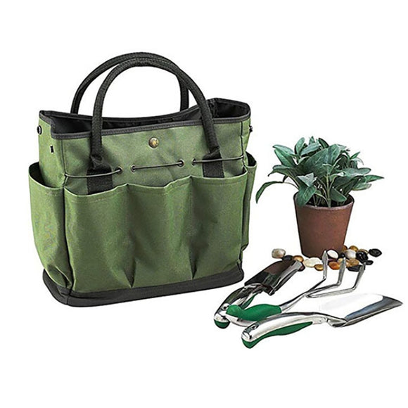 Gardening Tote Bag With Pockets For Tools