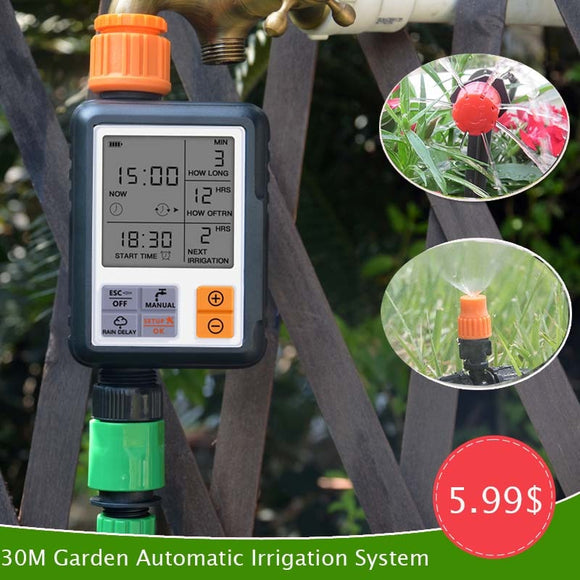 Automatic Irrigation Kit Drip Irrigation Sprinkler System