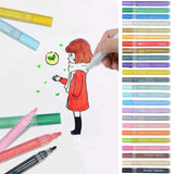 12/24pcs DIY Acrylic Permanent Paint Marker pen water pencil Set