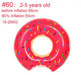 Inflatable Donut Swimming Ring for Pool Float