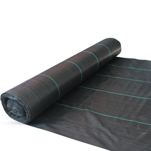 Weed Barrier Mat Black Plastic Mulch