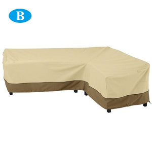 264*210CM Outdoor Patio Furniture Dustproof Cover L Shaped