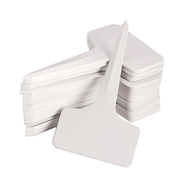 100 pcs Garden Labels white