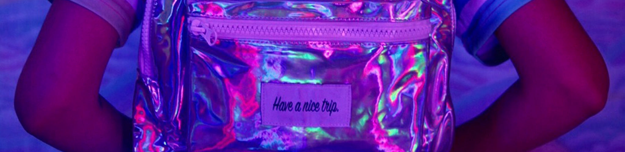 Festy Besty Time Traveler Holographic Backpack Collection | @camilalalaaa