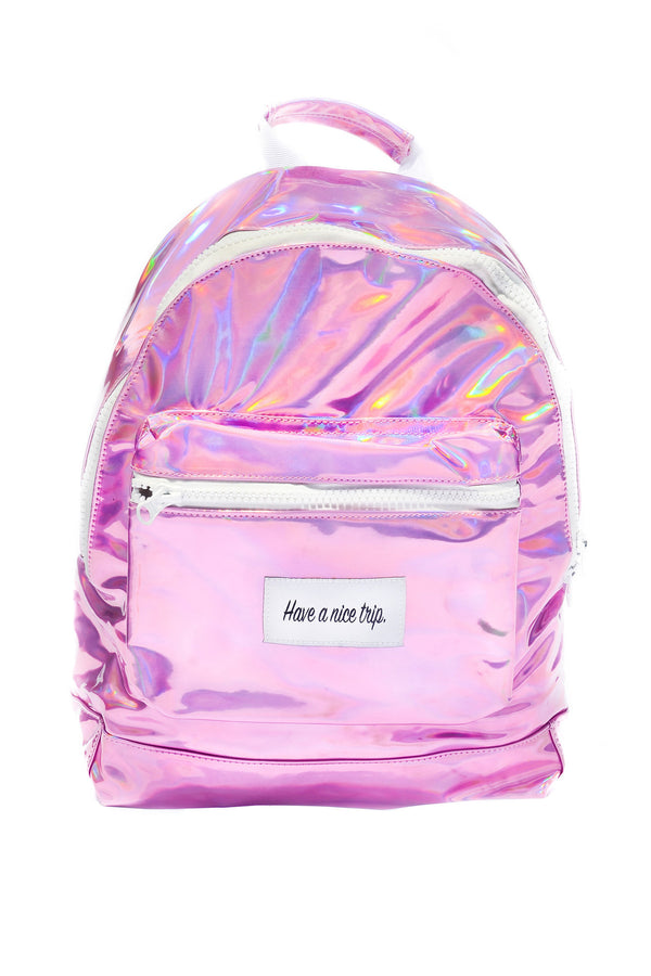 Festy Besty Time Traveler Backpack (Bubblegum) | Camila Romero @camilalalaaa
