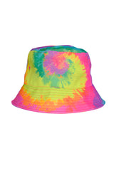 Make Friends Tie Dye Bucket Hat