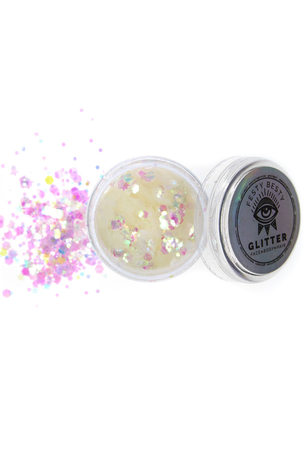 Festy Besty Iridescent Holographic Glitter