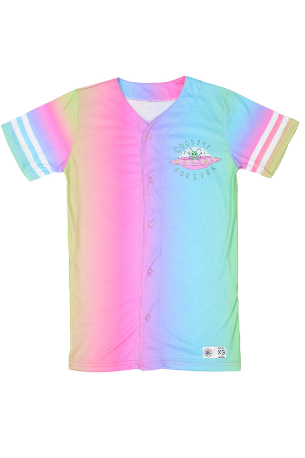 Festy Besty Goodbye Forever Jersey Gradient Rainbow