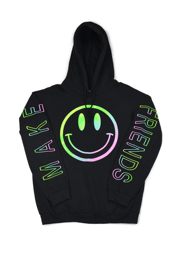 FESTY BESTY Make Friends Black Hoodie