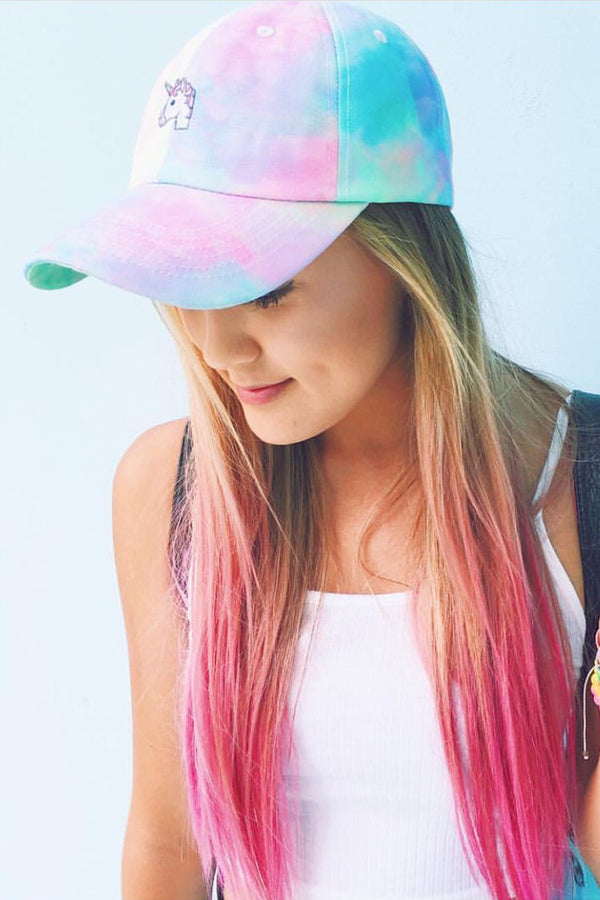 Festy Besty Unicorn Dad Hat | Lauren Riihimaki @laurdiy