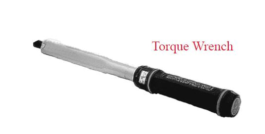 SE50TH - Torque Wrench, 7.5 - 37.5 Ft lbs,  Length 16MM