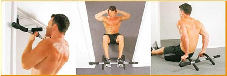Door Gym Doorway Pull Up Bar For Home Chin Up Bar