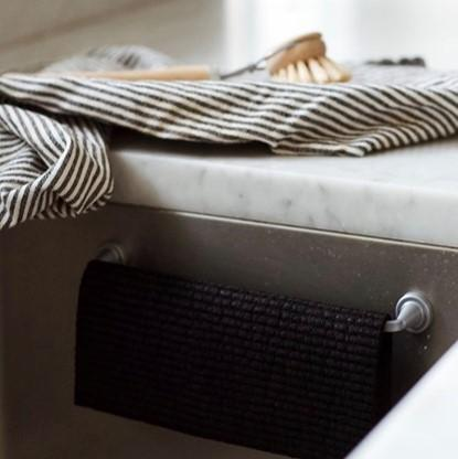 Magnetic Cloth Rail - Stainless Steel