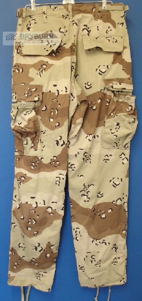 GENUINE US MILITARY DESERT STORM CHOCOLATE CHIP PATTERN PASGT VEST COVER XSMALL
