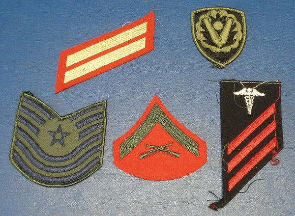 US Army Original Military Various Insignia x 5 Different