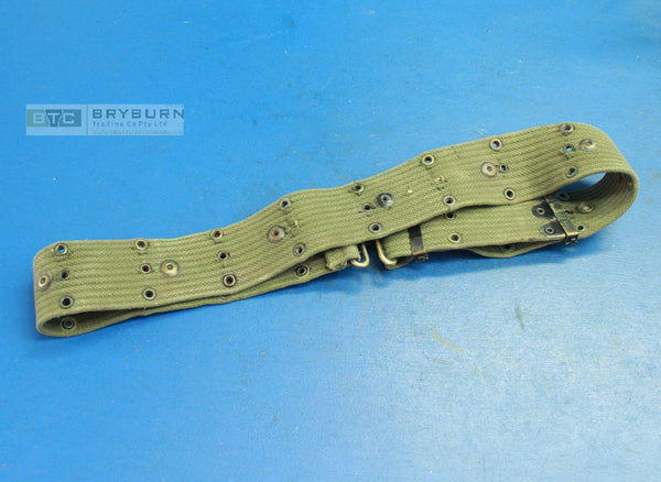 USMC Vietnam War M1961 Equipment/Pistol Belt -  Genuine US Issue