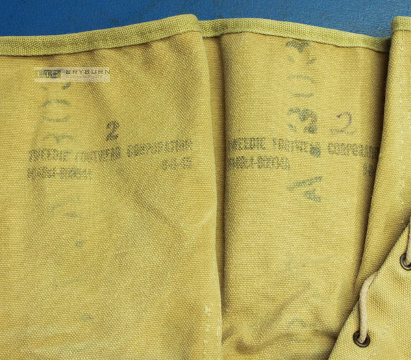 US Marine Corps WW2 M1938 Khaki Canvas Leggings - Original
