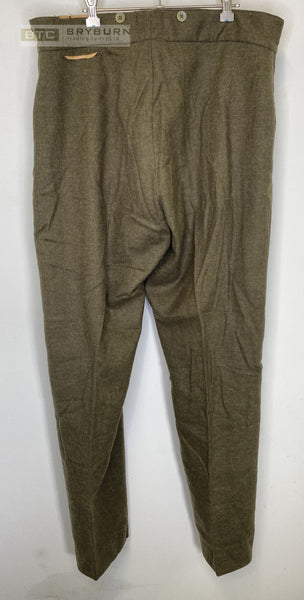 Australian WW2  Army Service Dress Trousers  - 1945 - Original