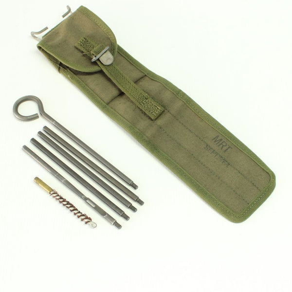 US Army M1 .30 Cal Rifle Cleaning Rods and Pouch Set