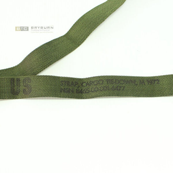 2 x US Army ALICE Straps, Cargo Tie-Down- Genuine US Issue - Unissued
