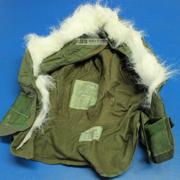 US Army M-51/M65 Cold Weather Hood for Fishtail Parka & M65 Jacket - Genuine US Issue - Unissued