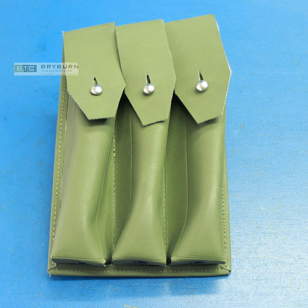 Australian Army MP5 3 Pocket Magazine Pouch - Orig H & K - Unissued