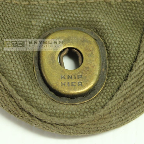 US Army WW2 Pattern Canteen Cover - Post War Dutch/Belgium