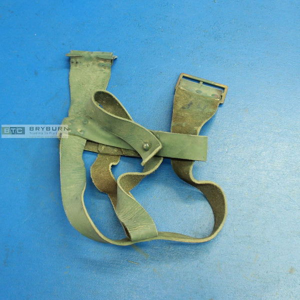 Original Australian WW1 P1915 Leather Water Bottle Carrier - Scarce Green Hide