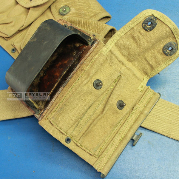 US Army WW1 Khaki BAR Mag Belt - 1918 - Original