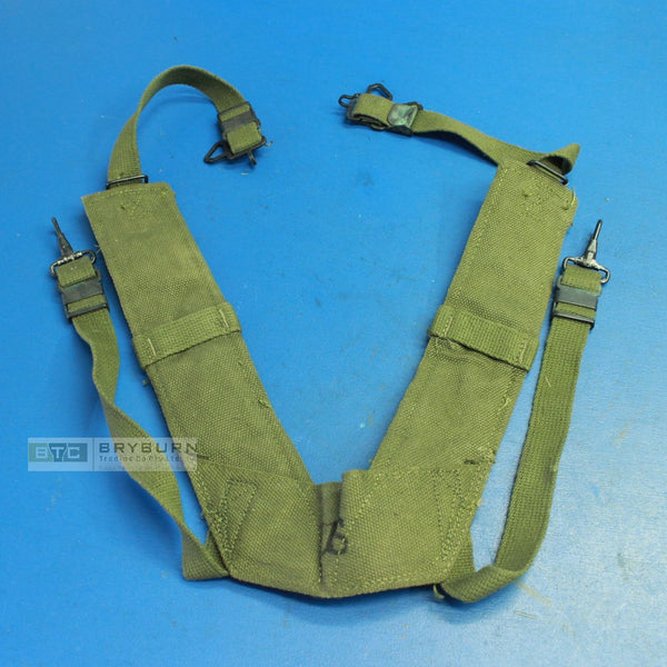 "US Army Vietnam M1956 ""H"" Equipment Suspenders - Unissued"