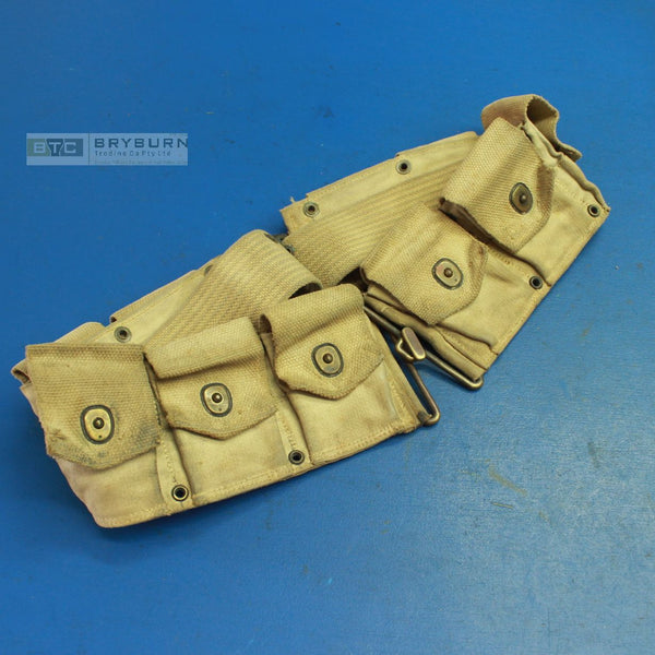 US Army WW1 Springfield Cartridge Belt - 1918 - Original