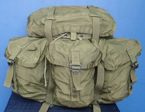 US Army ALICE Medium Backpack with Shoulder Straps - Genuine US Issue