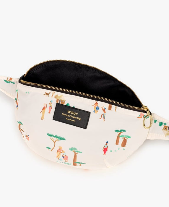 BAOBAB RECYCLED WAIST BAG par WOUF • BANANE, beau, design, importation_inventaire_2, MADE IN SPAIN