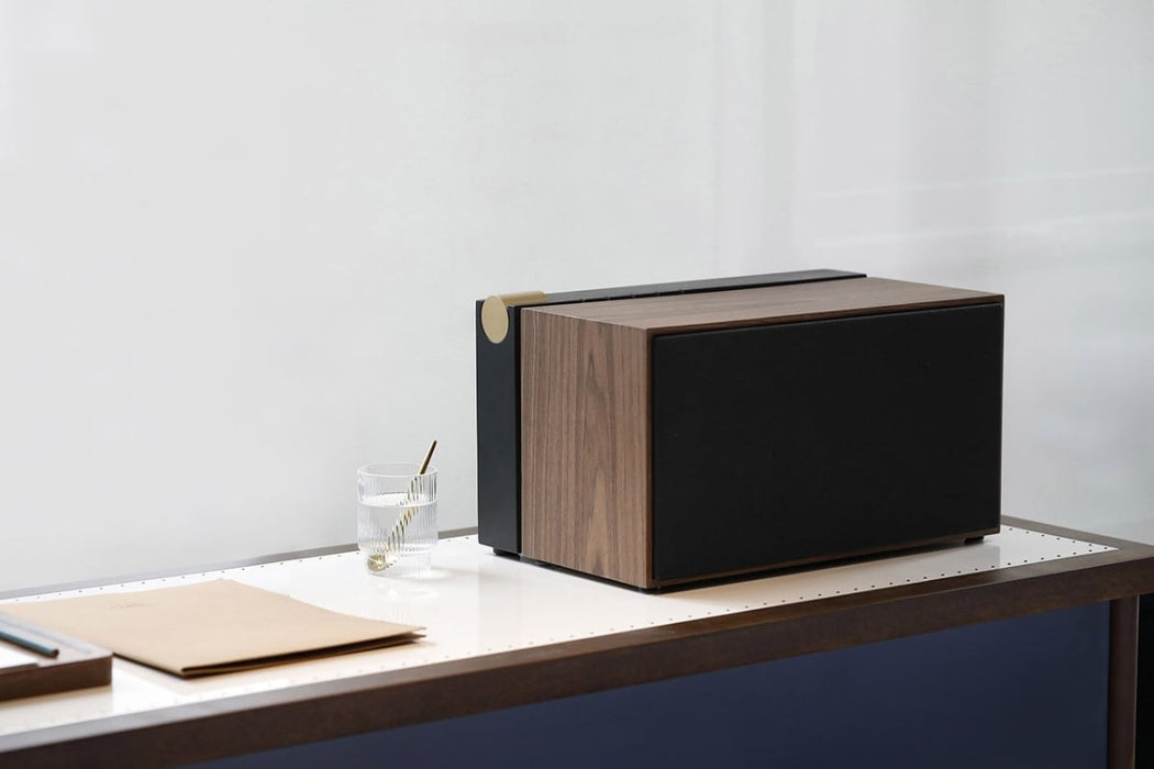 ENCEINTE BLUETOOTH PR/01-NATIVE UNION par LA BOITE CONCEPT • audio, bluetooth, enceinte, HP,