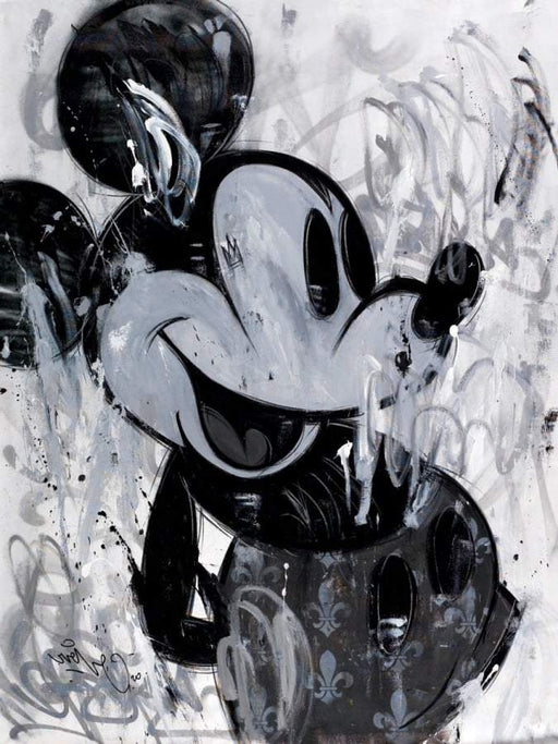 GREY SHADES by Mr Oreke - 120X90cm par Eyefood Factory • art, artiste, embellir, fabriqué à la main,