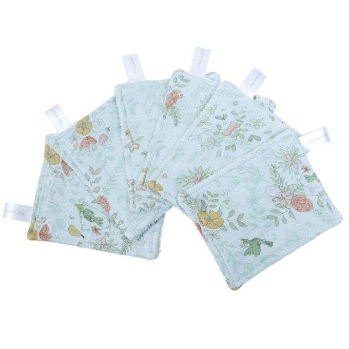 Copie de LOT DE 6 LINGETTES LAVABLES 'PARADIS' par Little Crevette • enfants, fashion enfant,