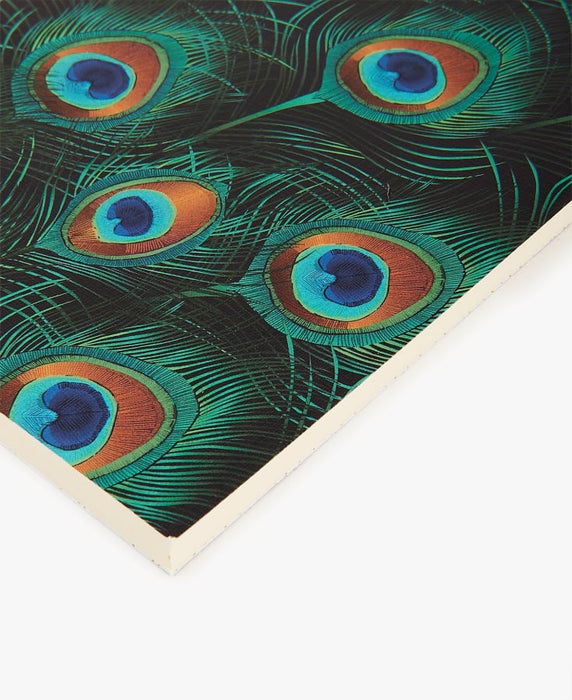 NOTEBOOK PEACOCK par WOUF • cahier, importation_inventaire_2, made in spain, note, note notebook