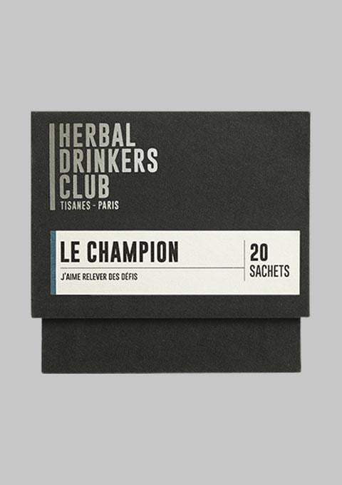 Herbal Drinkers Club - Épicerie - TISANE 'LE CHAMPION' - Premier ÉTAGE