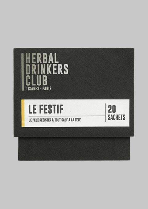 Herbal Drinkers Club - Épicerie - TISANE 'LE FESTIF' - Premier ÉTAGE