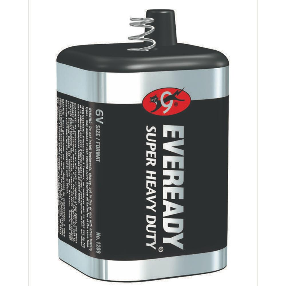 EVEREADY Super Heavy Duty 6V Lantern, Square (spring terminals)