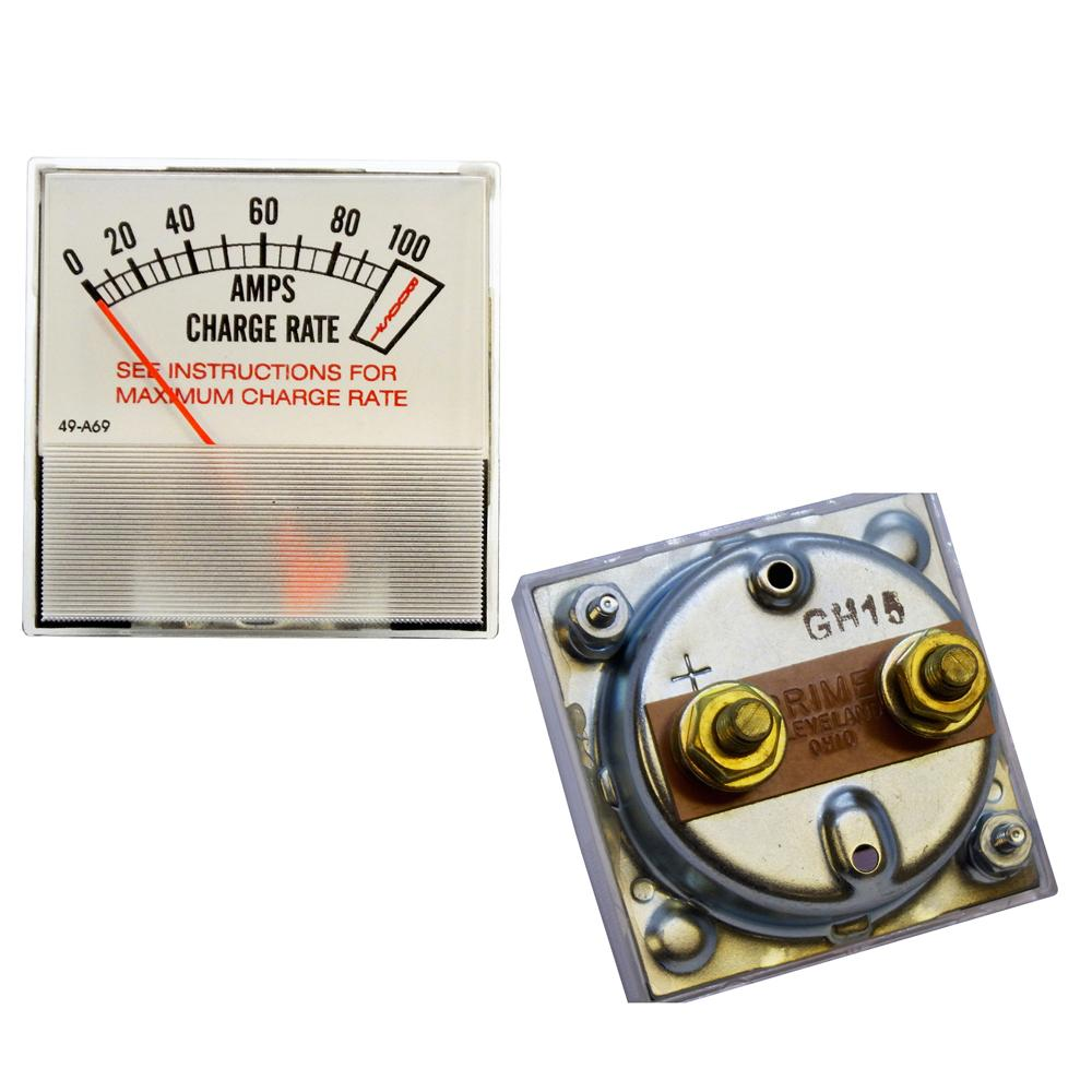 Amp Meter, 100A w/Boost, Associated Eqpt, fits 6001, 6002, 6009, etc